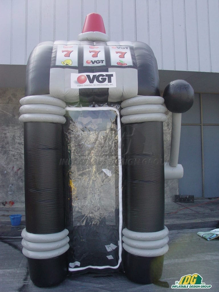 Instant money maker...Custom Inflatable Money Machines!