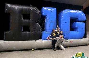 You can be the Talk of the Town with Inflatable Logo Blocks 4