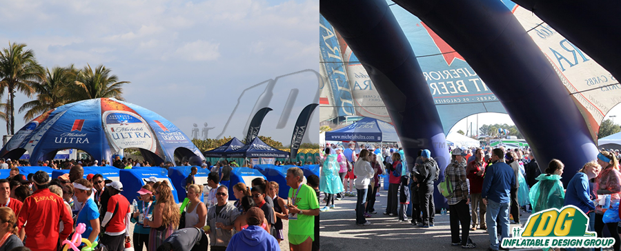 Stay in the Shade this Summer with Inflatable Pavilions 1