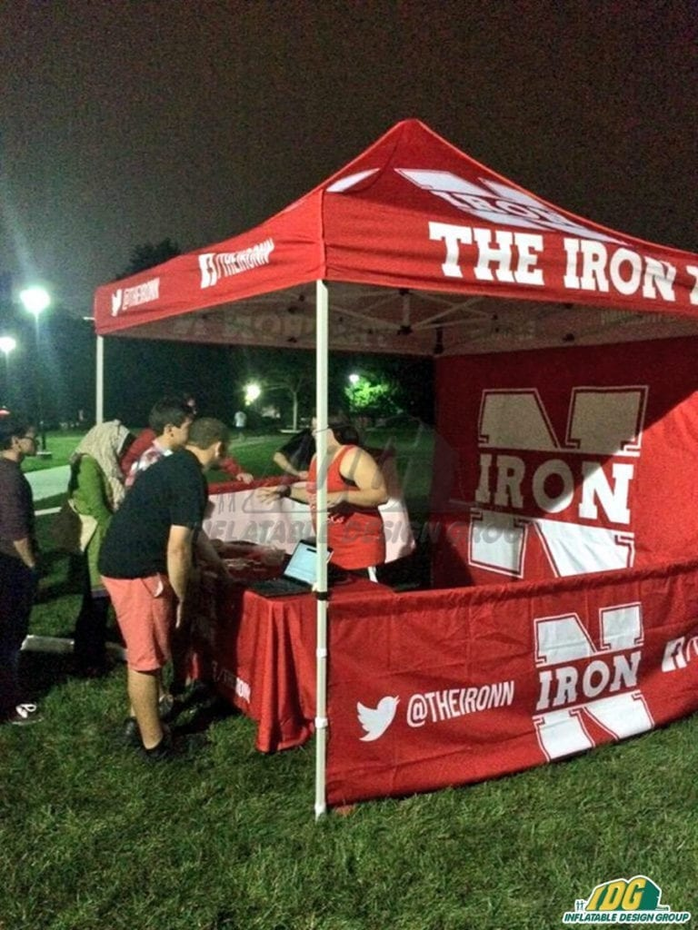 Graphic Vendor Tents Make Going Back to College Cooler than Ever