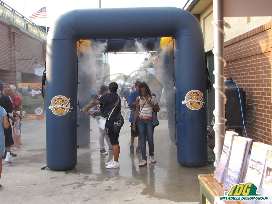 Keep your Customers Cool with an Inflatable Misting Station