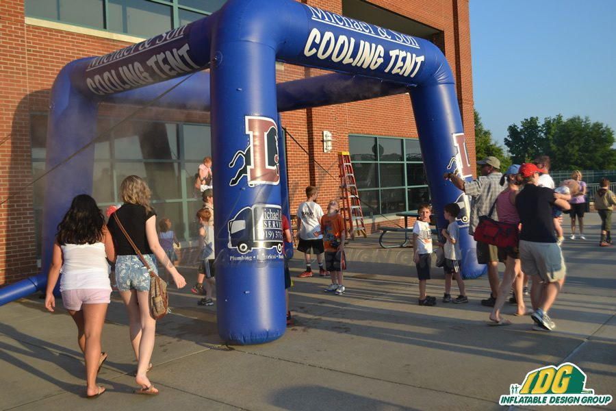 Keep your Customers Cool with an Inflatable Misting Station 1