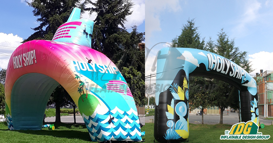 Dance Your Heart Out with Custom Inflatable Stage Sets