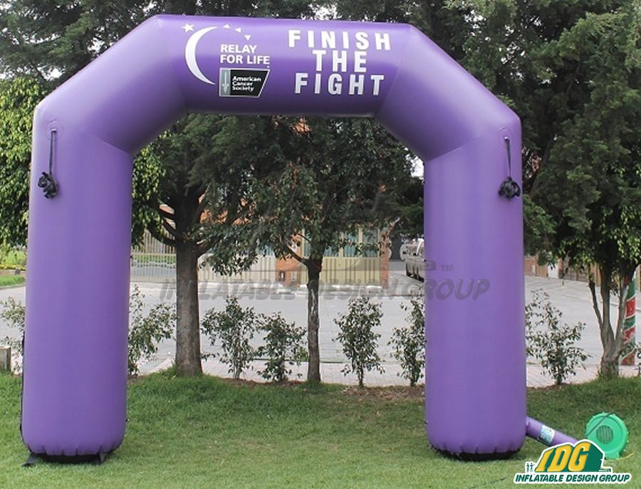 Inflatable Charity Archways Help Spread Awareness to Everyone