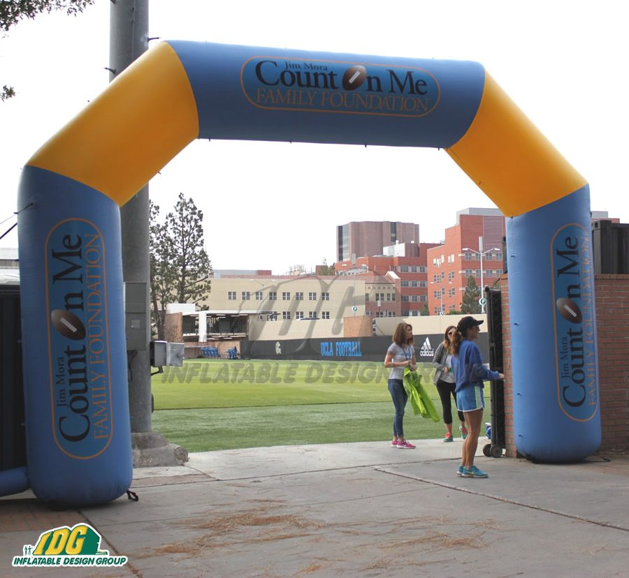 Inflatable Charity Archways Help Spread Awareness to Everyone 2