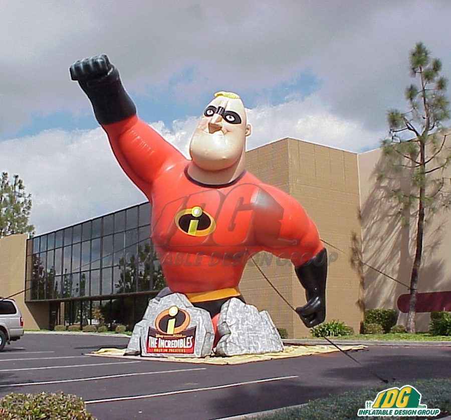 Take Over Tinseltown with Entertainment Inflatables