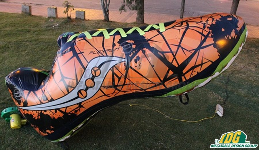Take a Walk on the Wild Side with Inflatable Shoe Replicas