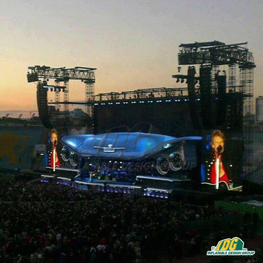 Show Stopping Inflatable Stage Sets
