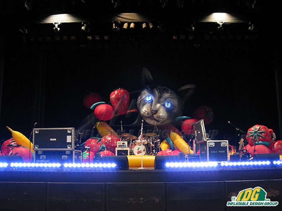 Katy Perry Inflatable Stage Sets