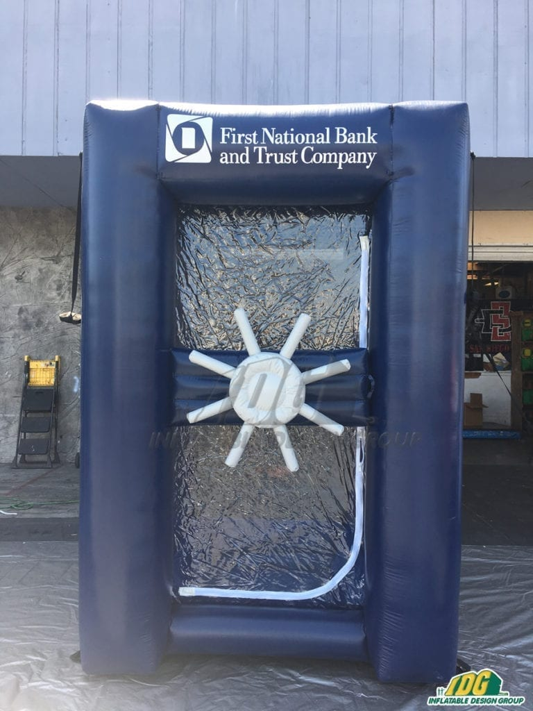 Inflatable Cash Vaults Are The Gift That Just Keeps on Giving 3