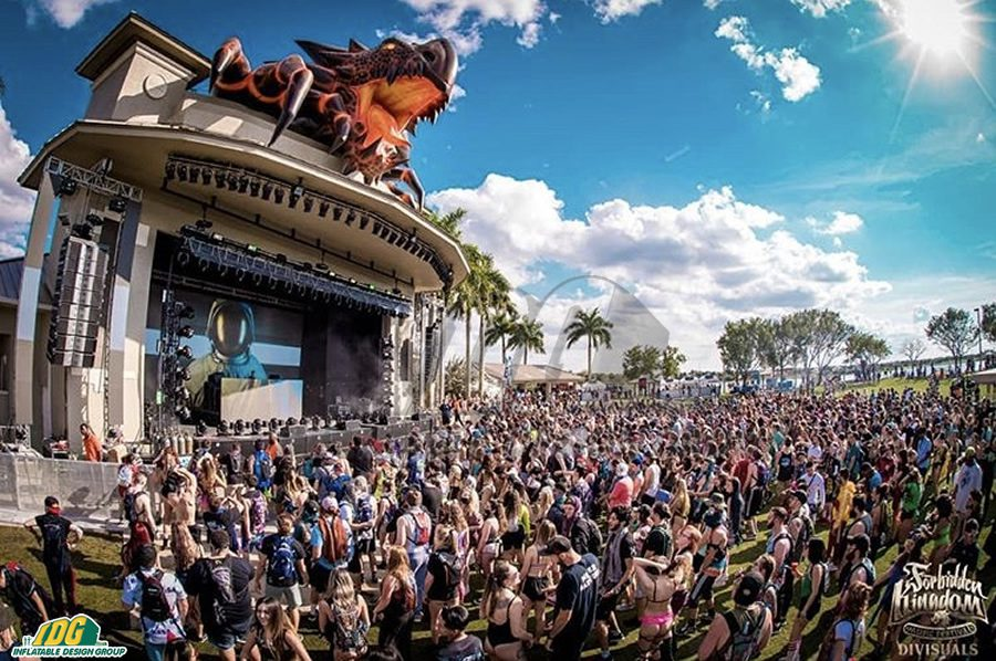 Music Festival Inflatables Will Help You Dance the Night Away