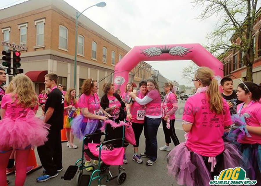 Stride Into Your Next Event with Inflatable 5k Arches