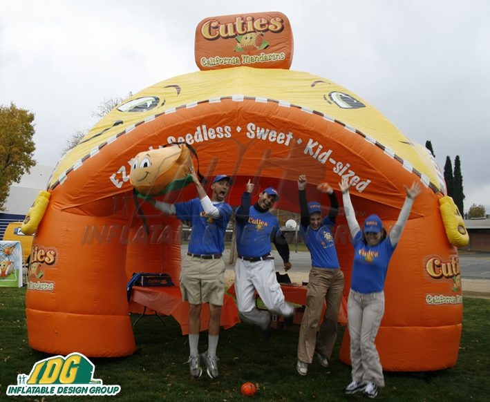 Inflatable Drive-in and Curb-Side Solutions for your company or product.