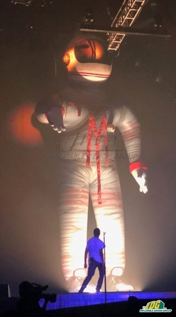 Summer Concerts Heat Up with Custom Inflatables