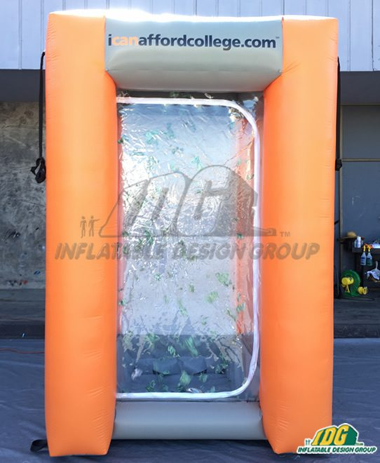 Make it Rain with an Inflatable Money Machine