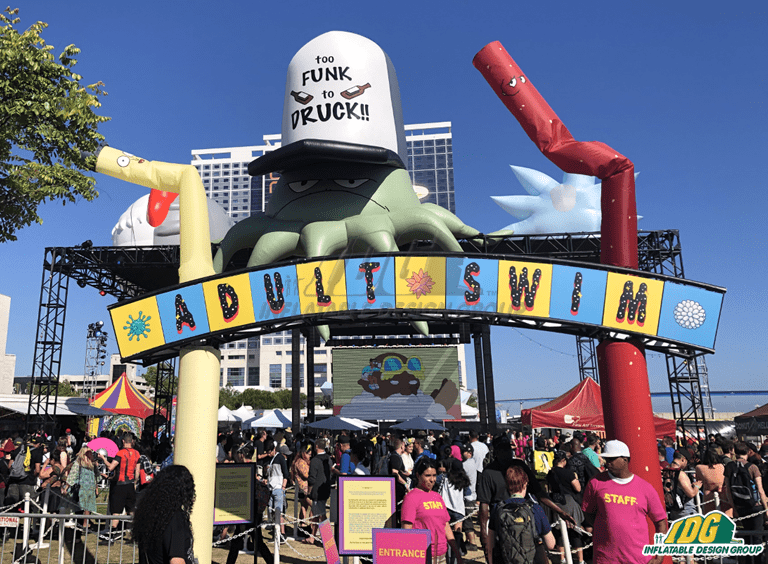 Nerd Out with a Custom Comic-Con Inflatable from IDG