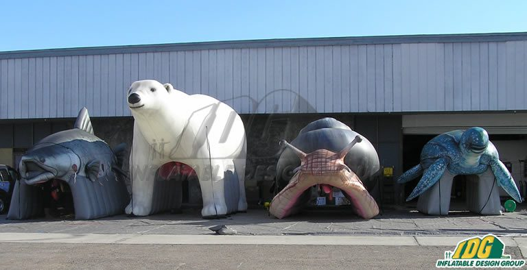 Custom Inflatable Animals from IDG