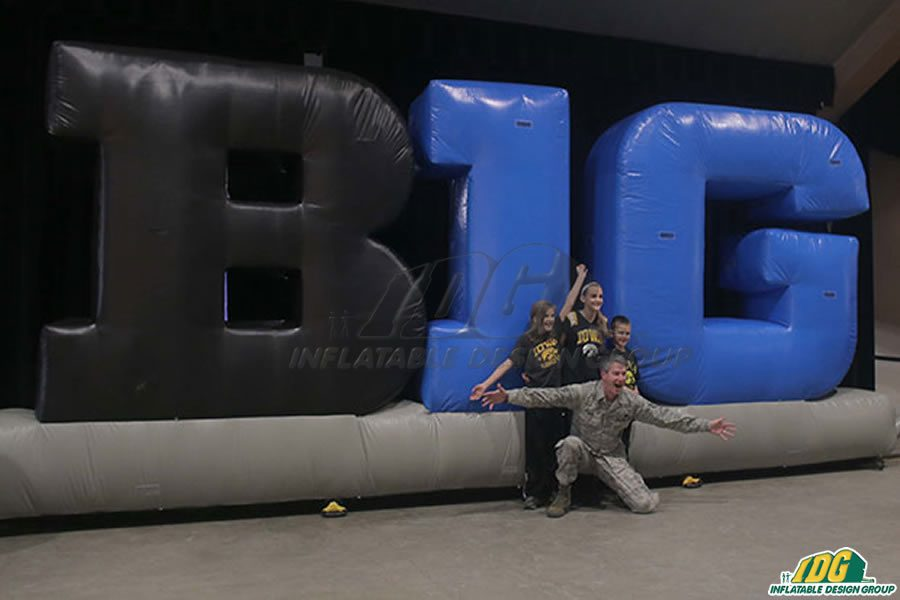 Be Bold with IDG's Inflatable Logos and Shapes 10