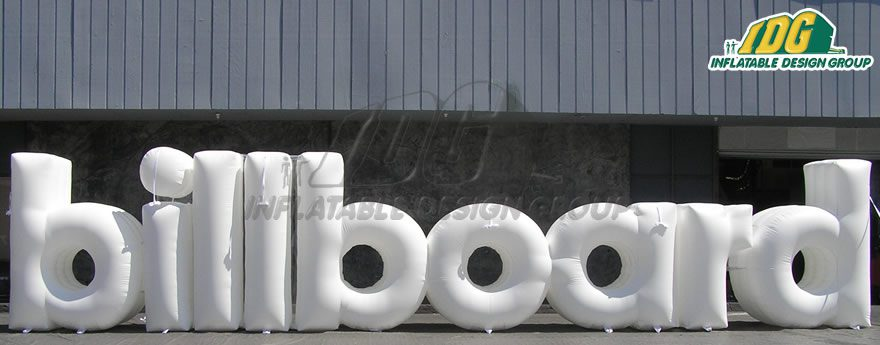 Be Bold with IDG's Inflatable Logos and Shapes