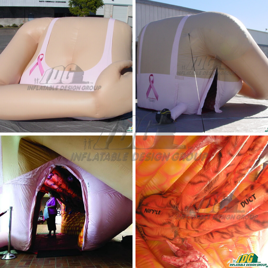 Breast Cancer Awareness with IDG Inflatables