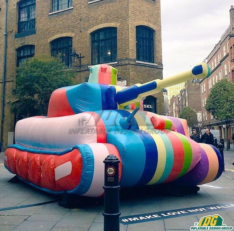 Custom Inflatable Art with IDG