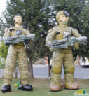 Inflatable Military Products