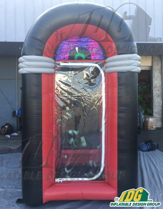 Cash Grabbing fun with Inflatable Money Machines