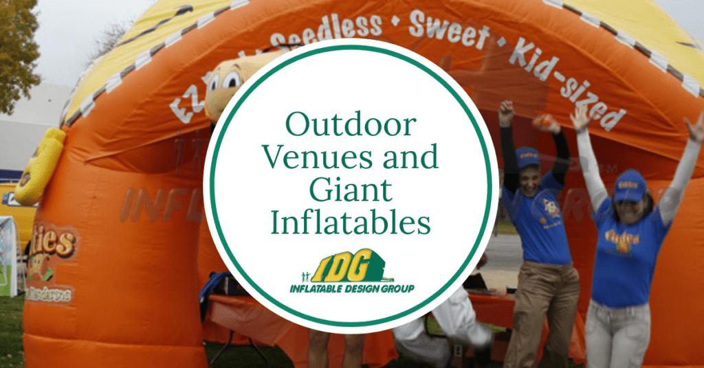 Giant Inflatables and Outdoor Venues 1