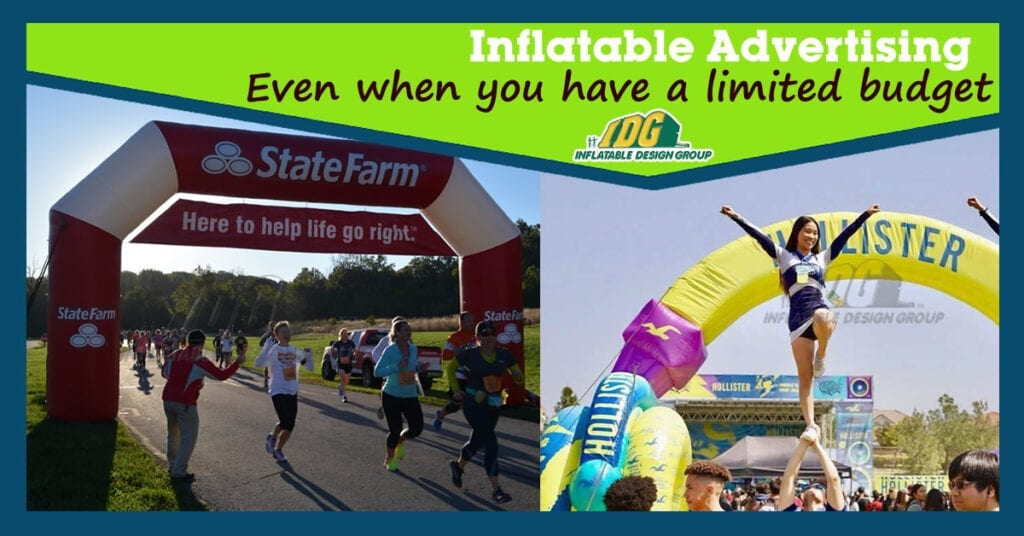 5 Significant Reasons to Advertise your Business with Inflatable Products on a Limited Budget. 3