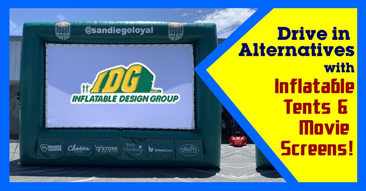 Inflatable Drive in and Curb Side Solutions for your company or product. 3