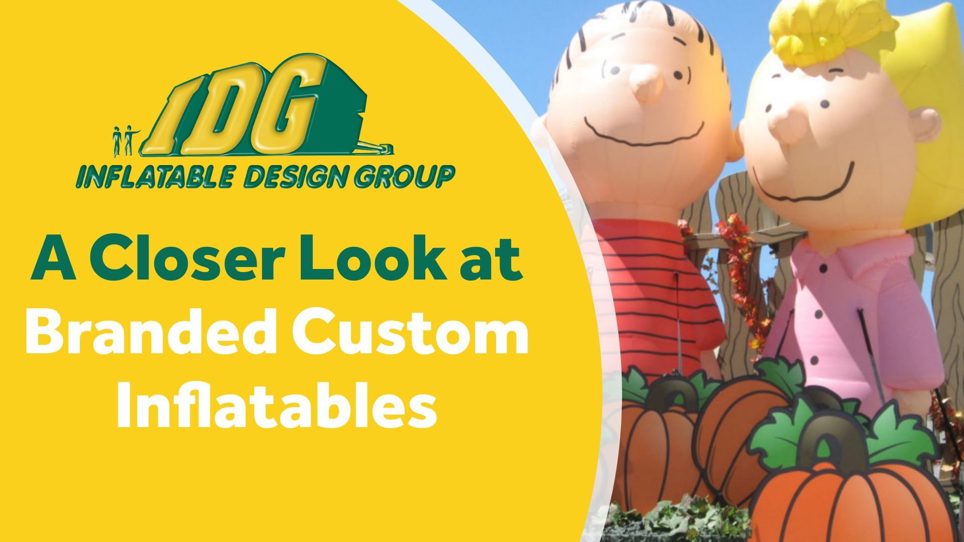 A Closer Look at Branded Custom Inflatables