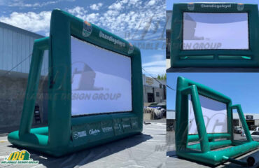 Inflatable San Diego Loyal Green Movie Screen