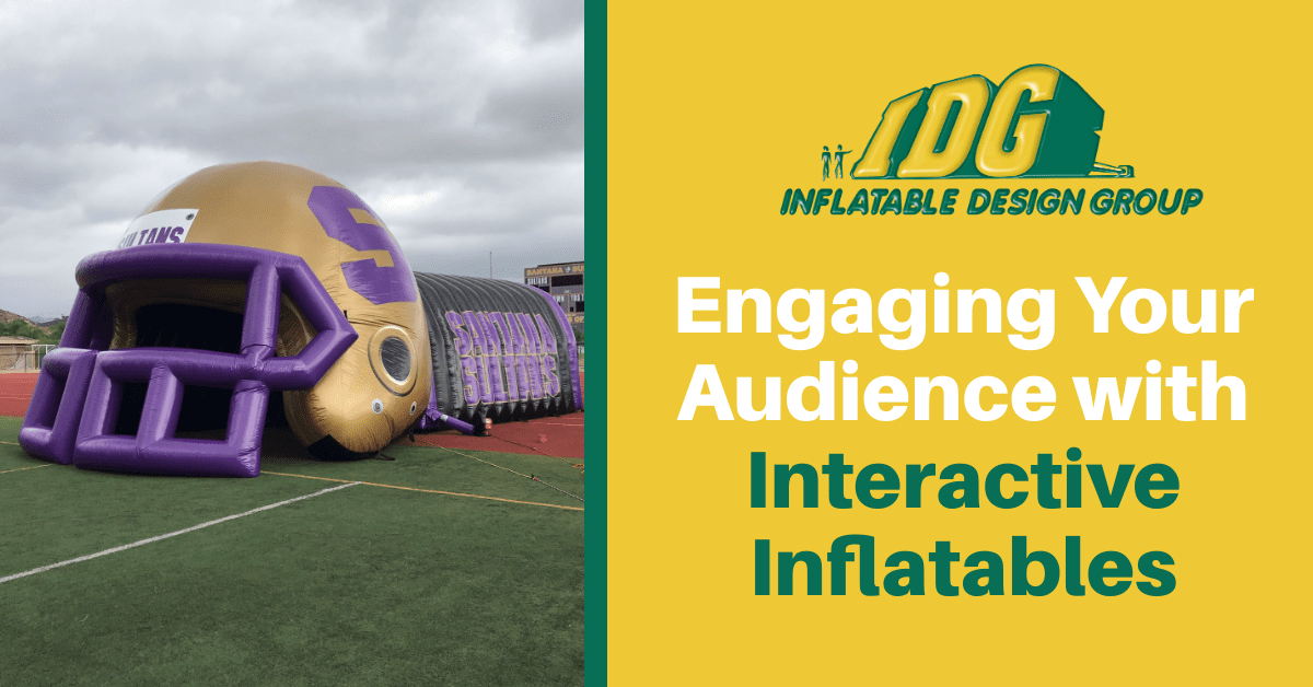 Engaging Your Audience with Interactive Inflatables 1