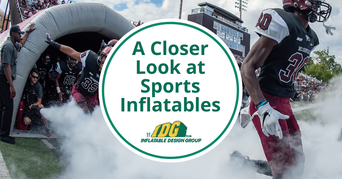 A Closer Look at Sports Inflatables