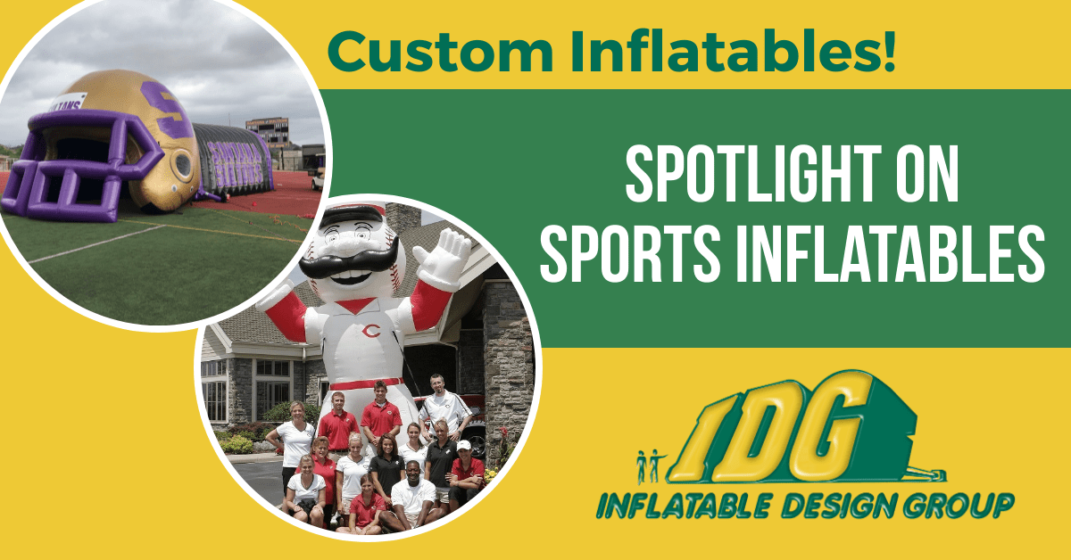 Spotlight on Sports Inflatables