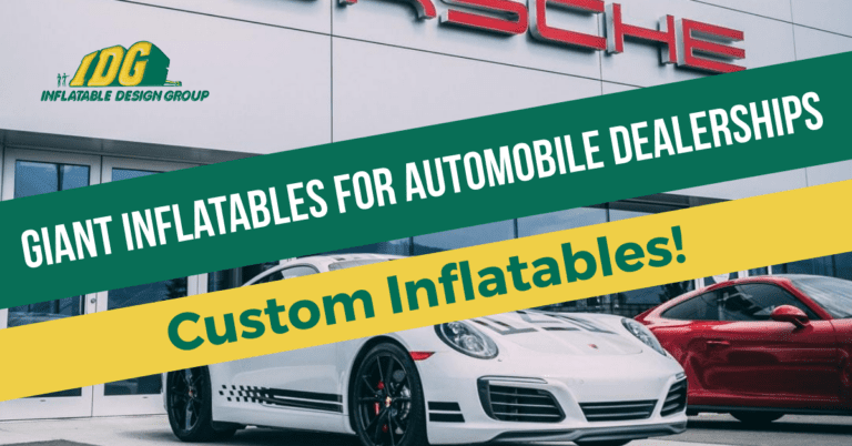 Giant Inflatables for Automobile Dealerships