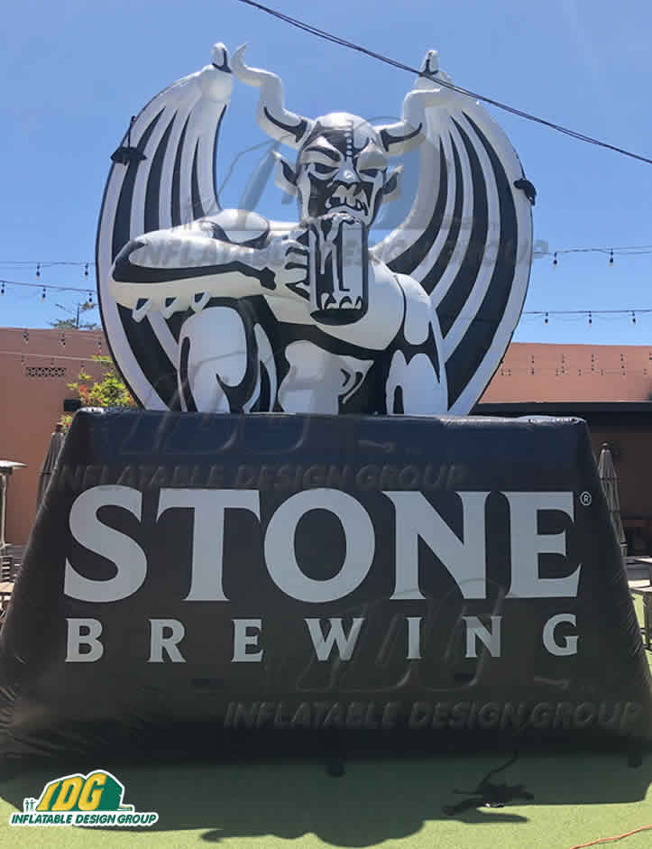 Custom craft brewery inflatables refresh guests!