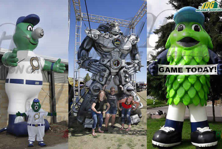Inflatable Custom Characters Brings Spiral, New Saw Movie, to Life