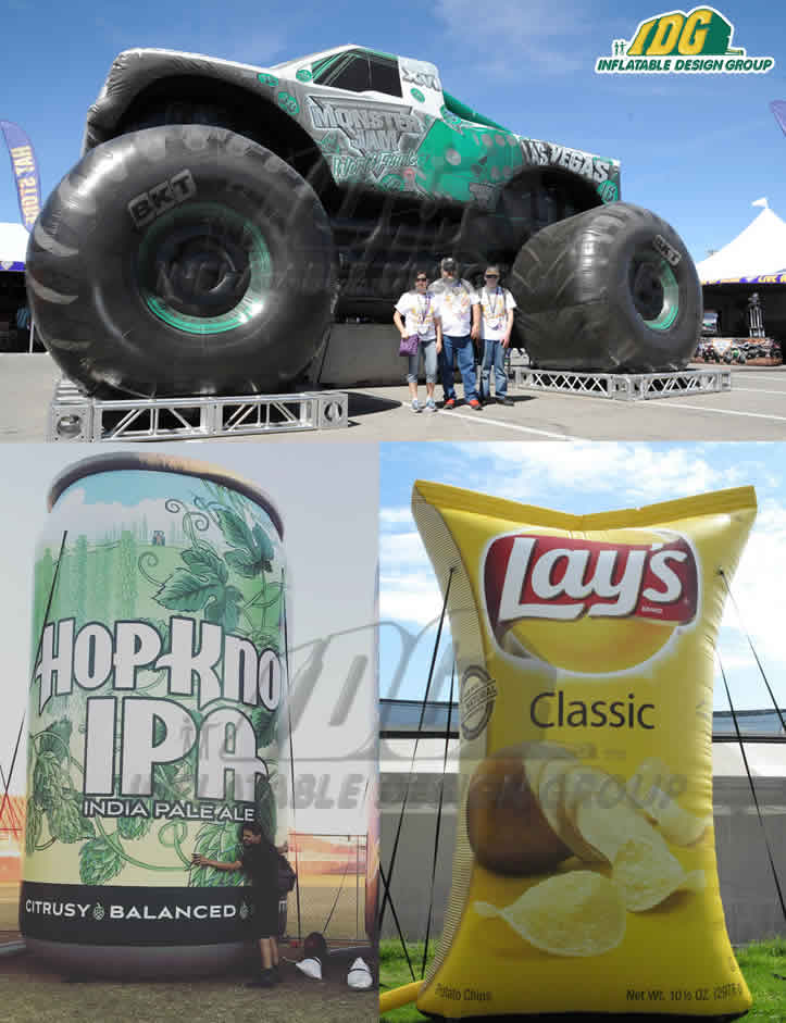 How Custom Inflatables Will Improve Your Experiential Marketing Campaign