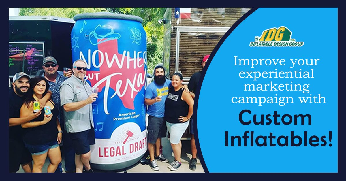 How Custom Inflatables Will Improve Your Experiential Marketing Campaign 8