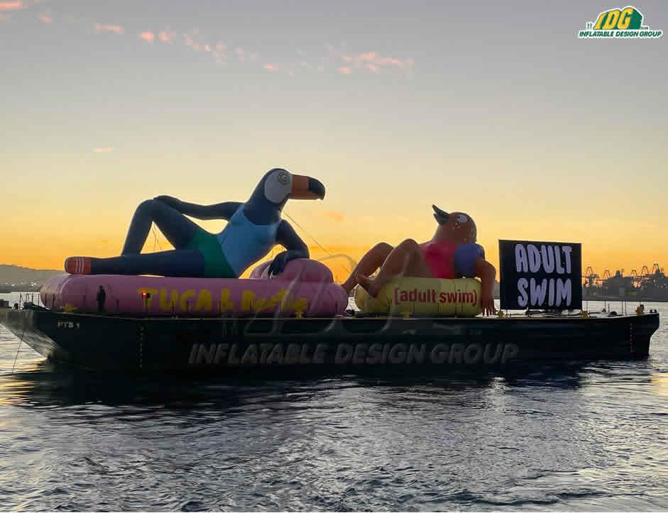 Success Story: Tuca & Bertie Custom Inflatables