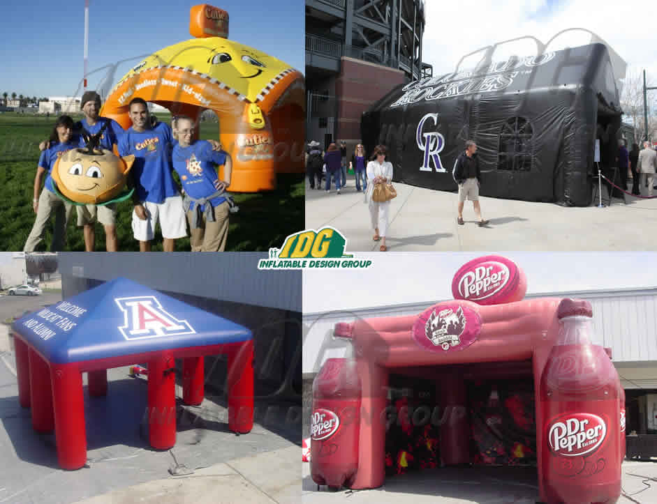 Stay Cool During the Summer with Inflatable Misting Stations and Tents