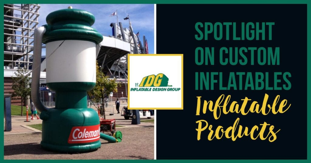 Spotlight on Custom Inflatables: Inflatable Products