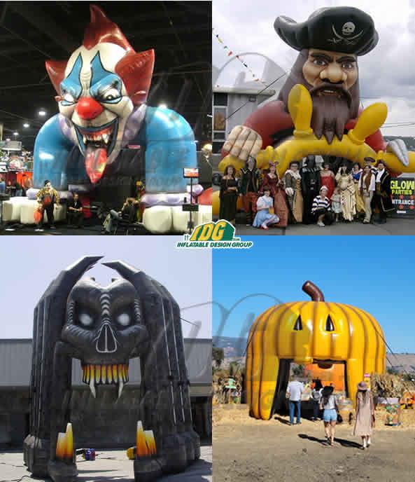 Prepare for Spooky Season with Custom Halloween Inflatables