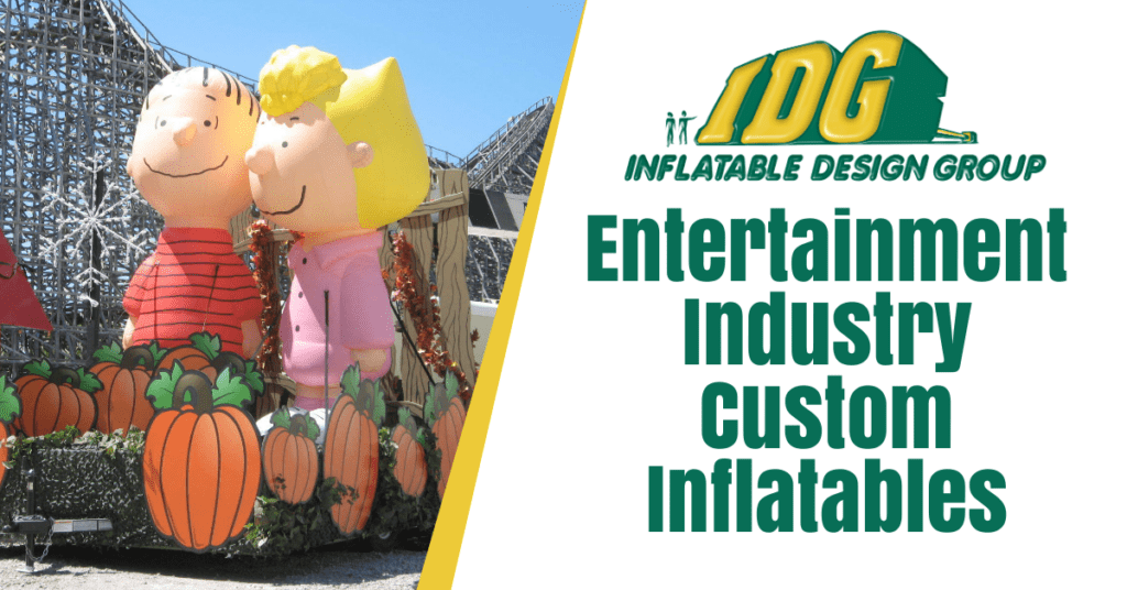 Entertainment Industry Custom Inflatables