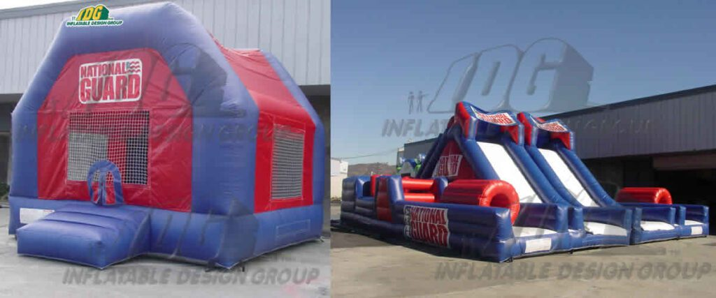 Custom Military Inflatables?  Roger That!
