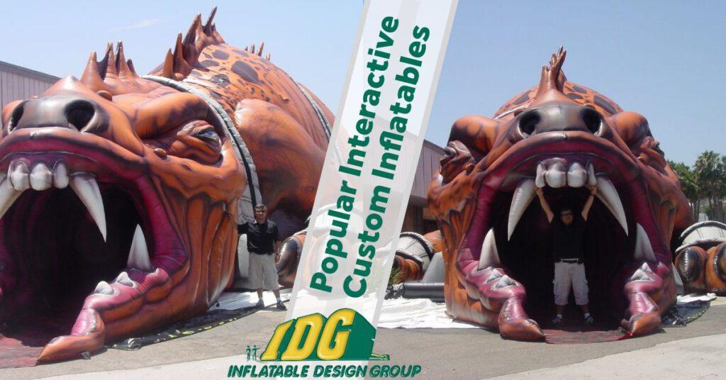 Popular Interactive Custom Inflatables