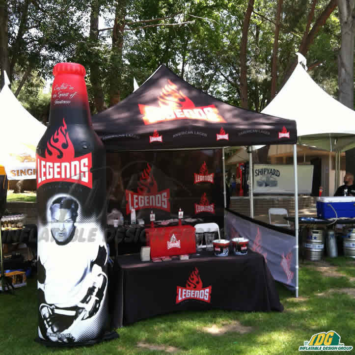 Show Off Your Event Sponsors and Brand with Inflatable Product Replicas!