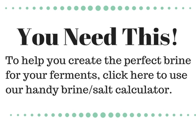 salt brine calculator