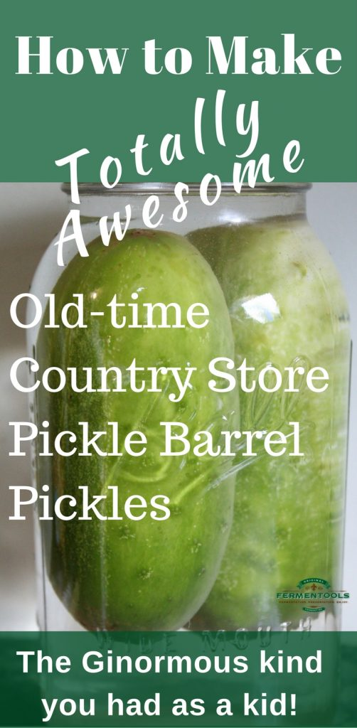 Lacto Fermented Old Time Pickle Recipe | fermentools.com
